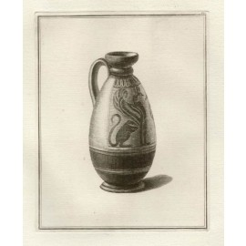 Corinthian lekythos William Hamilton Greek Vase engraving Etruscan