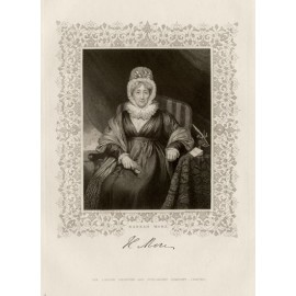 Hannah More portrait engraving author writer pickersgill