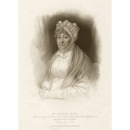 Hannah More portrait engraving author writer Bird