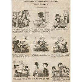 Histoire Veridique Isidore Coquerel Dent dentist lithograph