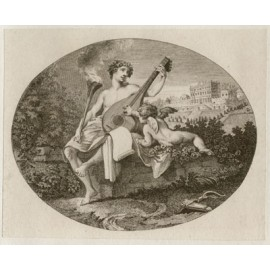 Hymen Cupid Engraving William Hogarth etching