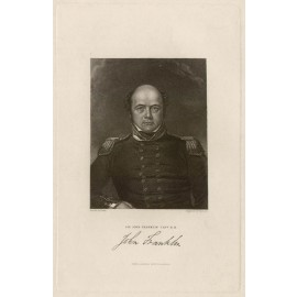 John Franklin portrait engraving William Der
