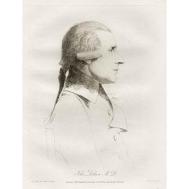 John Latham medical portrait Dance Daniell etching