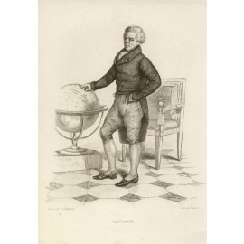 Laplace portrait engraving astronomer mathematician