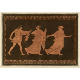 Warrior William Hamilton Greek Vase painting engraving Etruscan