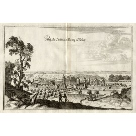 Chateau Tanlay Merian French engraving