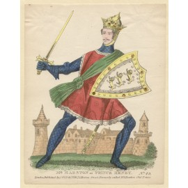 Mr Marston as Prince Henry Lithograph tinsel John Redington