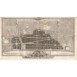 plan rebuilding city london after great fire