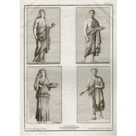 Antiquities of Heculaneum engraving Pompeii Vanni