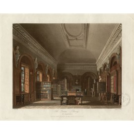 Queens Library St James Reeve Wild Ackermann aquatint