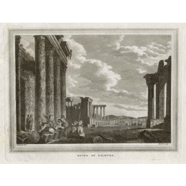 Ruins Palmyra engraving James Heath Stothard
