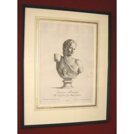 Satyr Classical sculpture engraving