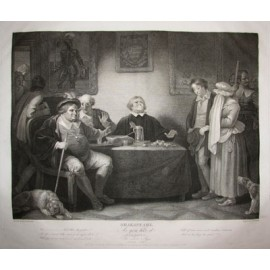 Boydell Shakespeare As you like it engraving Smirke
