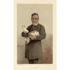 Vanity Fair Doctor Medical chromolithograph Louis Pasteur Hydrophobia