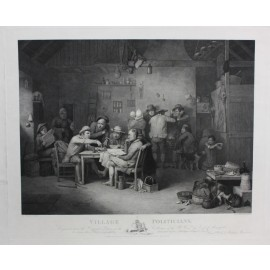 Village Politicians engraving Abraham Raimbach David Wilkie