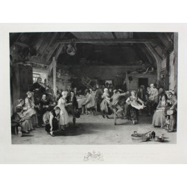 Penny Wedding engraving David Wilkie
