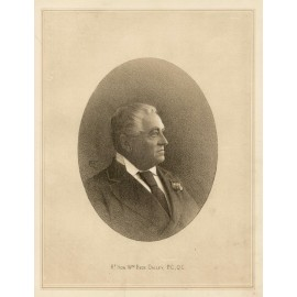 William Bede Dalley lithograph portrait