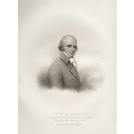 William Beechey self portrait engraving print artist
