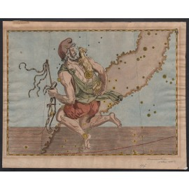 auriga uranometria bayer antique celestial map