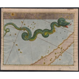 hydra uranometria bayer antique celestial map