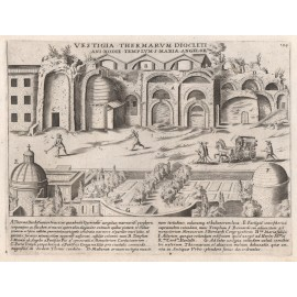 baths diocletian lauro engraving rome
