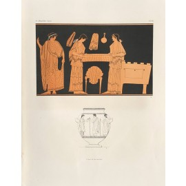 box Greek vase painting print Gerhard