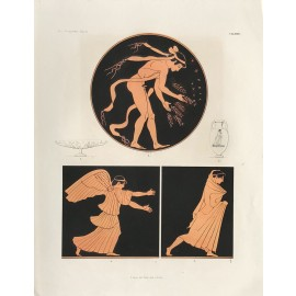 mythology Greek vase painting print Gerhard