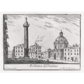 colonna traiana engraving rome