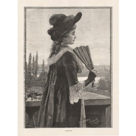 expectation fan sydney cowell engraving