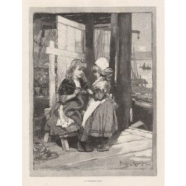 in friendship knit davidson knowles engraving