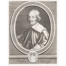 Jacques Callot portrait engraving