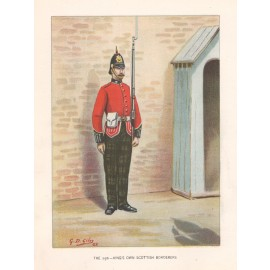 scottish borderers colonial forces