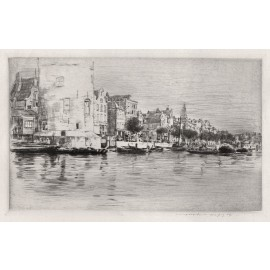 rotterdam Mortimer Menpes etching