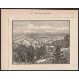 napier new zealand engraving australasian sketcher