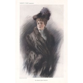 Queen alexandra Vanity Fair portrait