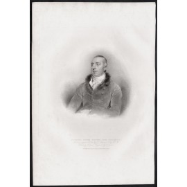 James richard payne knight portrait engraving Thomas Lawrence