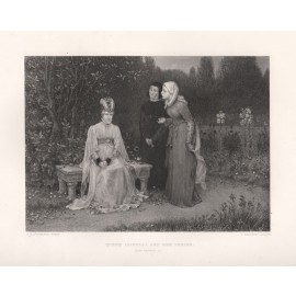 queen isabella shakespeare engraving