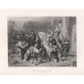 seven ages man shakespeare engraving