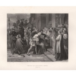 wolsey leicester abbey shakespeare engraving