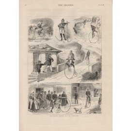 bicycling notes abroad engraving