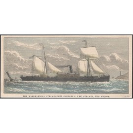 nelson steam packet engraving