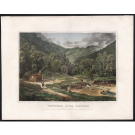 wentworth river diggings nicholas chevalier lithograph