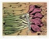 Onions Aileen Brown limited edition signed linocut