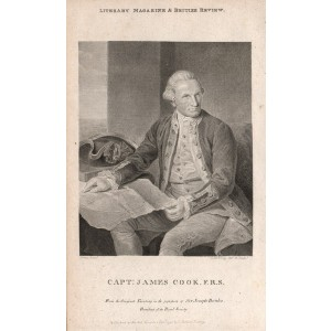 Capt James Cook FRS