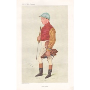Vanity Fair Jockey - Frank Wootton