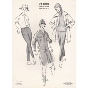 French 1960s Fashion Design