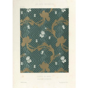 French Fabric Design - Etoffe De Pavie