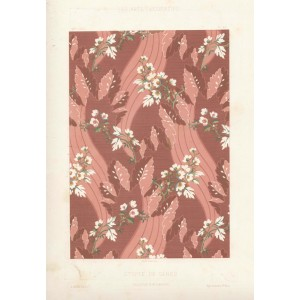 French Fabric Design - Etoffe de Genes