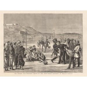 The Afghan War Football Match