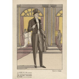 Parisien 1920s Mens Fashion Design